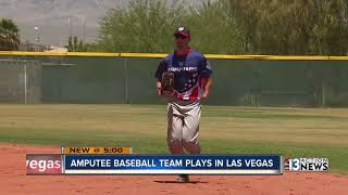 Download All-amputee baseball team hits the field in Las Vegas Video