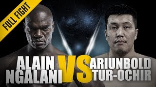 Download ONE: Full Fight | Alain Ngalani vs. Ariunbold Tur-Ochir | Impressive Striking Power | March 2018 Video