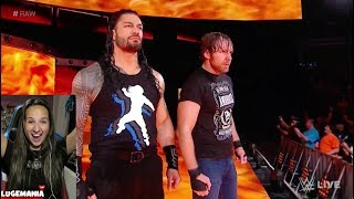 Download WWE Raw 10/9/17 The Shield REUNITE Video