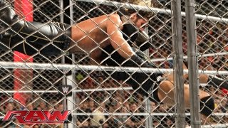 Download Randy Orton hits Seth Rollins with an RKO: Raw, April 20, 2015 Video