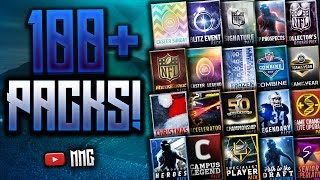 Download 100+ Variety Packs! My Biggest Variety Opening Yet! Madden Mobile 16 Video