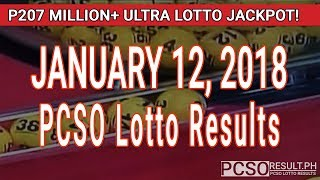 Download PCSO Lotto Results Today January 12, 2018 (6/58, 6/45, 4D, Swertres, STL & EZ2) Video