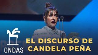 Download El emocionante discurso de Candela Peña: ″No importa tener la nariz grande o ser la segunda opción″ Video