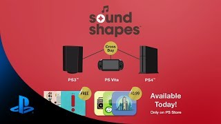 Download Sound Shapes PS4 Debut Video