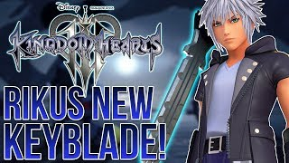 Download KINGDOM HEARTS 3 - RIKUS NEW KEYBLADE, NEW OUTFITS AND THE LINK SYSTEM Video