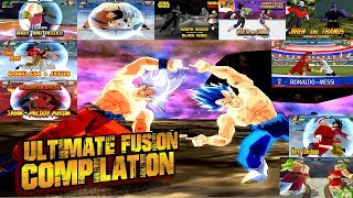 Download Dragon Ball ULTIMATE BEST FUSION Compilation | BEST DBZ FUSIONS EVER | DBZ Tenkaichi 3 (MOD) Video