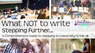 Download What NOT to write in your personal statement. Stepping Further #64 Video