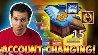 Download JT's F2P GAME CHANGING DAY! Everyone Gets TALENTS! Castle Clash Video