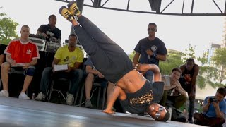 Download REAL LIFE FROGGER || TORONTO BBOY CONTEST || MOS DEF Video