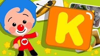 Download Letra K | Gira y Aprende Palabras con Plim Plim | Infantil 4K Ultra HD Video