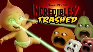 Download The Incredibles 2 Trailer TRASHED! (Annoying Orange) Video
