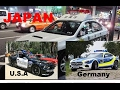 Download USA vs GERMANY vs JAPAN Police cars!!! Video