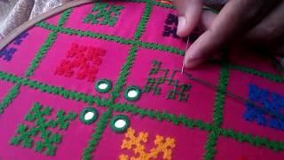 Download Hand Embroidery: Sindhi Design/Sindhi Stitch Part-1 Video