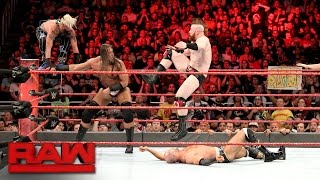 Download Enzo & Big Cass vs. Cesaro & Sheamus - Raw Tag Team Title No. 1 Contender's Match: Raw, Apr. 4, 2017 Video