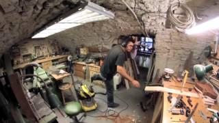 Download Construction artisanale d une guitare basse fretless hollow body Video