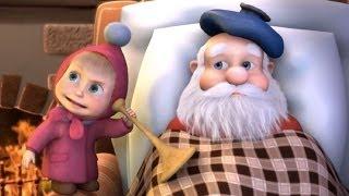 Download Маша и Медведь (Masha and The Bear) - Раз, два, три! Ёлочка, гори! (3 Серия) Video