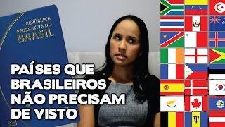 Download Países que brasileiros não precisam de visto Video