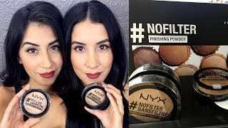Download NYX #NoFilter Finishing Powder Review Video