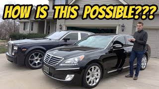 Download Here's Why this $15,000 Hyundai Equus Is More Luxurious Than My Rolls-Royce Phantom Video