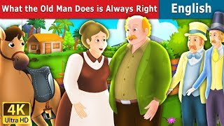 Download What the Old Man Does is Always Right in English | Story | English Fairy Tales Video
