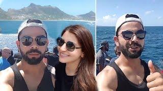 Download Virat Kohli Anushka Sharma Enjoying Boat Ride With Indian Cricket Team In South Africa Video