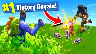 Download The *EXPLOSIVE* INFINITY GAUNTLET TRAP In Fortnite Battle Royale! Video
