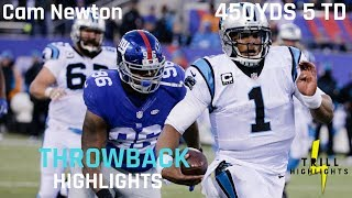 Download Cam Newton Most Overlooked Performance | Throwback Highlights 12.20.2015 Video
