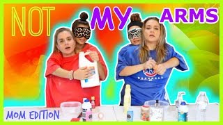 Download MOM EDITION ″ NOT MY ARMS SLIME CHALLENGE ″ SISTER FOREVER Video
