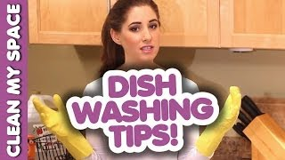 Download How to Hand Wash Dishes: 10 Handy Dish Washing Tips! Easy Dish Cleaning Ideas (Clean My Space) Video