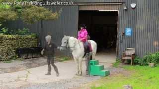 Download Pony Trekking Ullswater, Pony Trekking Lake District, Pony Trekking Centre Park at Park Foot Video
