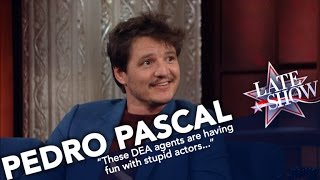 Download Pedro Pascal's Terrifying Trip to DEA Headquarters Video
