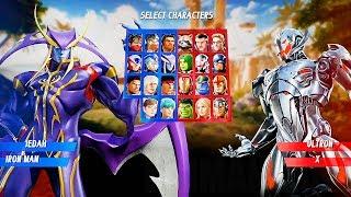 Download Marvel vs Capcom: Infinite - Jedah & Gamora Gameplay Reveal @ (60ᶠᵖˢ) HD ✔ Video
