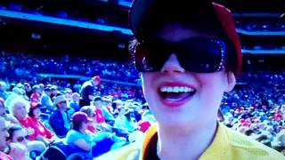 Download Emily Youcis singing to me at a Phillies game in 2012 Video