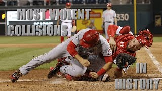 Download MLB | Most Violent Home Plate Collisions in History Video