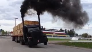 Download 11 JDH Peterbilt (Michel Tremblay) Meilleurs moments! Drag Video