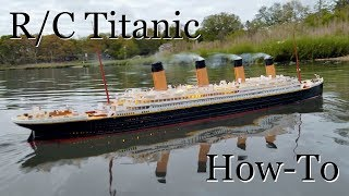 Download R/C Titanic Model: How It's Made Video