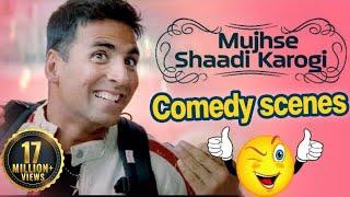 Download All Comedy Scene of Mujhse Shaadi Karogi - Salman Khan | Akshay Kumar | Priyanka Chopra Video