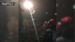Download Primeras imágenes del accidente de avión del club de fútbol Chapecoense Video