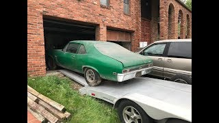Download Unconverted 1969 L78 396 Yenko Nova Found In Western PA Parked Since 1978 Video