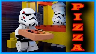 Download LEGO STAR WARS - PIZZA DELIVERY Video