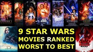 Download 9 Star Wars Movies Ranked Worst to Best Video