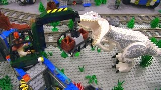 Download LEGO Jurassic World invades New JANG City! All sets together Video