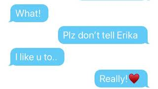 Download Erika likes Logan! (Textingstory) Video