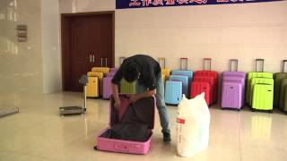 Download luggage testing video(unbreakable luggage) Video