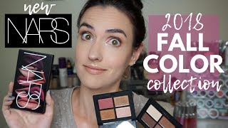 Download NARS Fall Color Collection 2018   Limited Edition   Swatches + Tutorial! Video