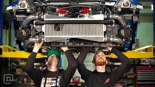 Download Tuerck & Forsberg Epic 370Z and 240SX Drift Car Builds: Drift Garage Ep. 201 Video
