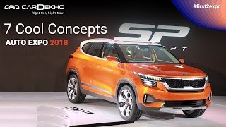 Download 7 Cool Concepts @ Auto Expo 2018 | CarDekho Video