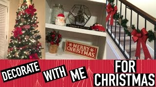 Download DECORATE WITH ME FOR CHRISTMAS | CHRISTMAS DECOR 2016 Video