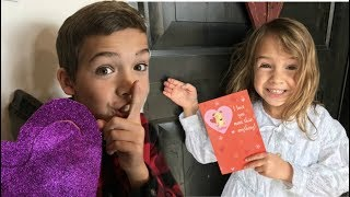 Download Delivering Valentines to their CRUSH!   shopping for Valentines & secret deliveries! Video