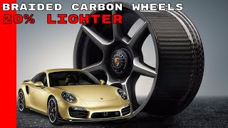 Download Porsche 911 Turbo S Exclusive Series Braided carbon wheels Explained Video